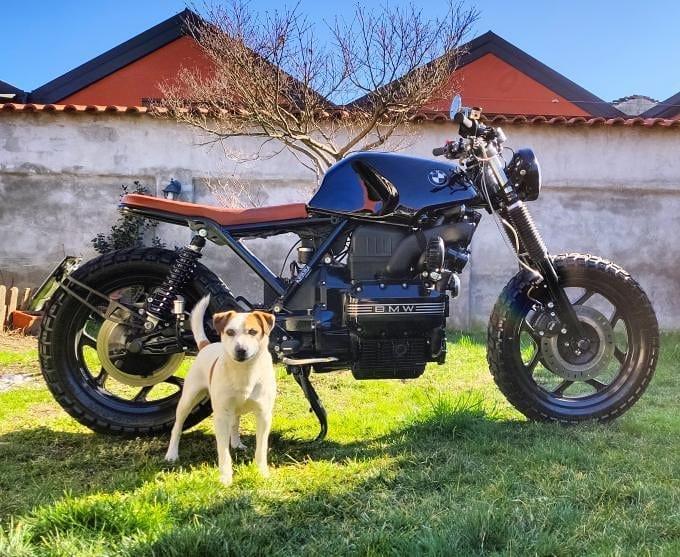 BMW k75 by @und_fined