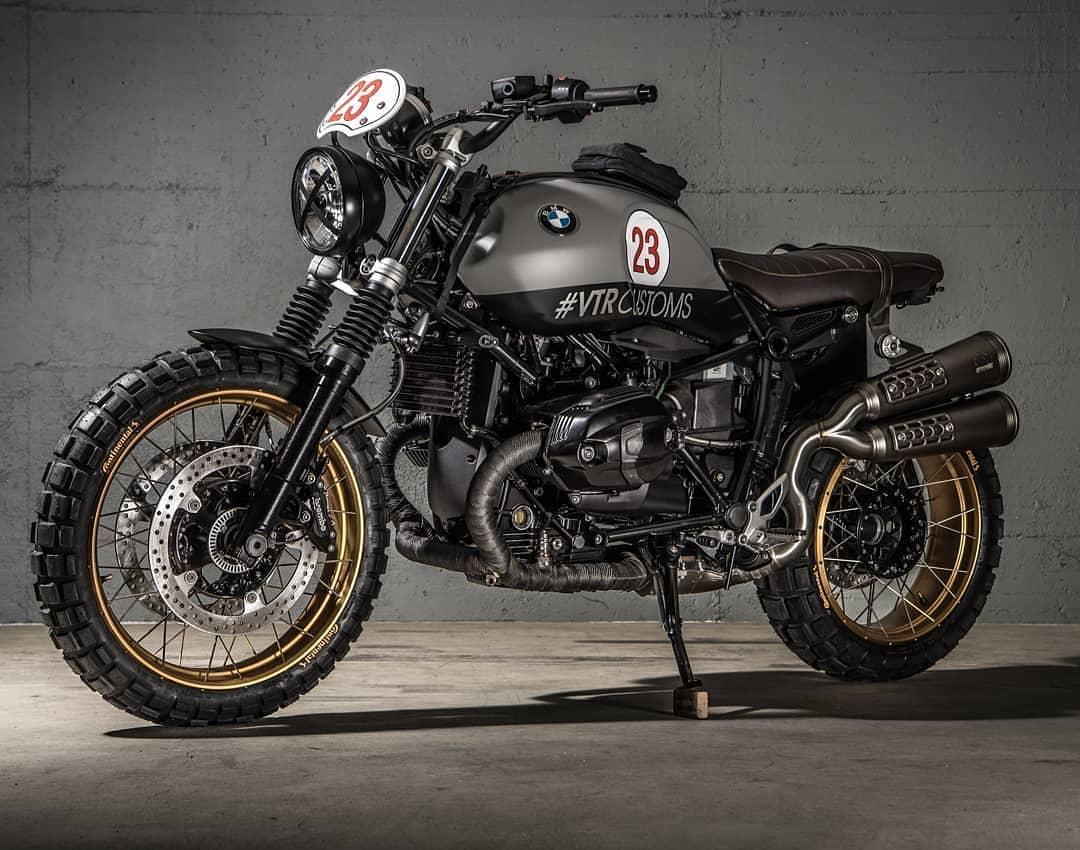 BMW NineT Scrambler by @vtrcustoms