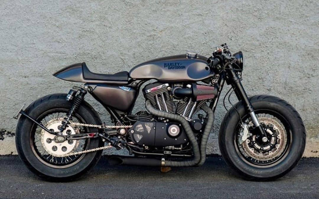 Harley-Davidson Sportster by @rcdept