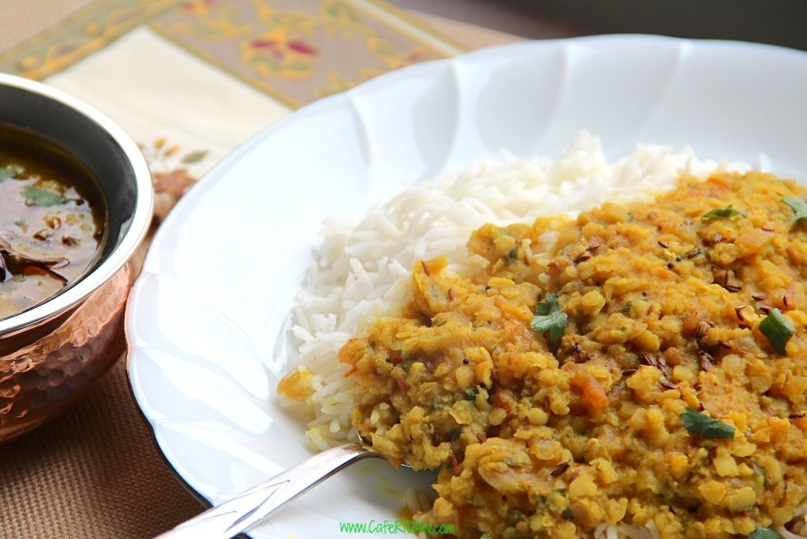 Dal Tadka (Lentils with spices)