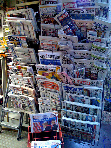 Newspapers by Noodlepie