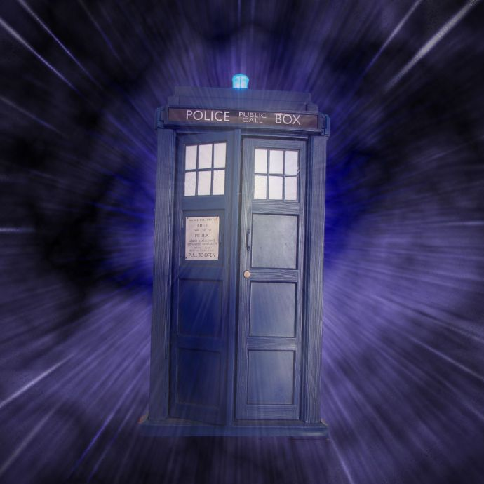 The TARDIS, courtesy of Wikimedia