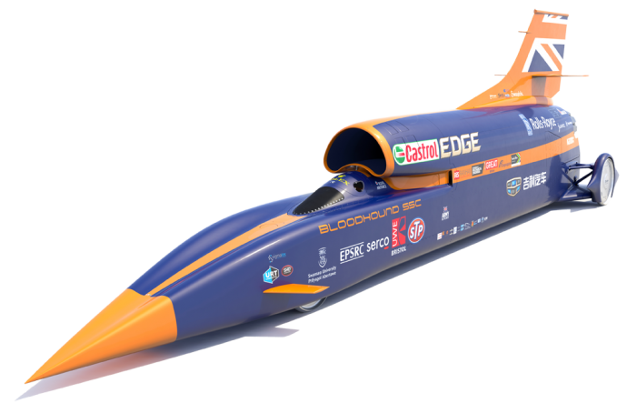 The Bloodhound SSC car