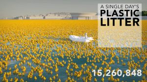 Single-Day-Plastic Litter by RealWorld Visuals