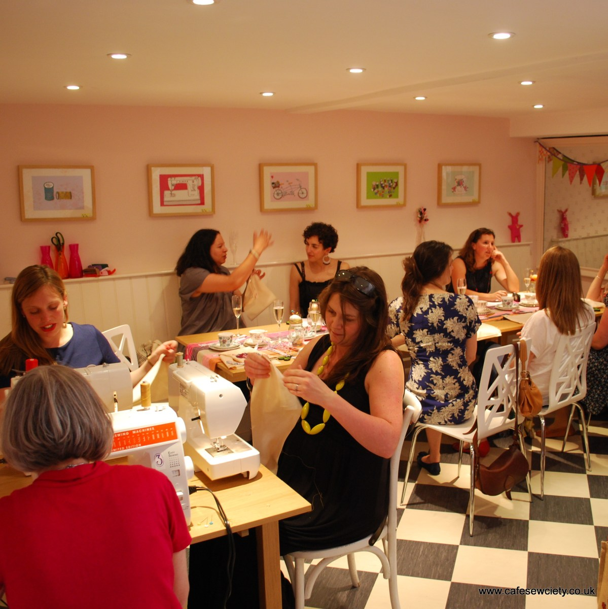 Hen Party in the Sewing Parlour