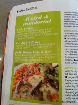 Venue - Food & Drink Guide 2012