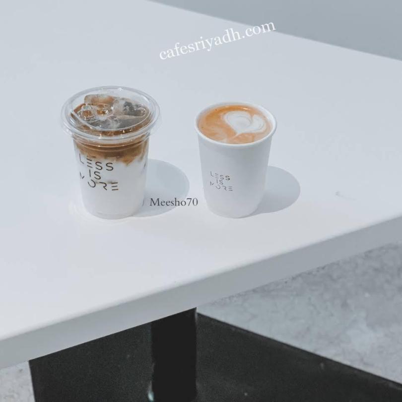 قهوة مختصة LESS IS MORE