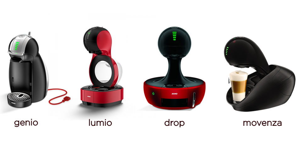 Dolce Gusto coffee makers
