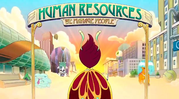 Primer teaser oficial de la serie Human Resources. el spin-off de Big Mouth