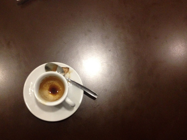 Lonely coffee