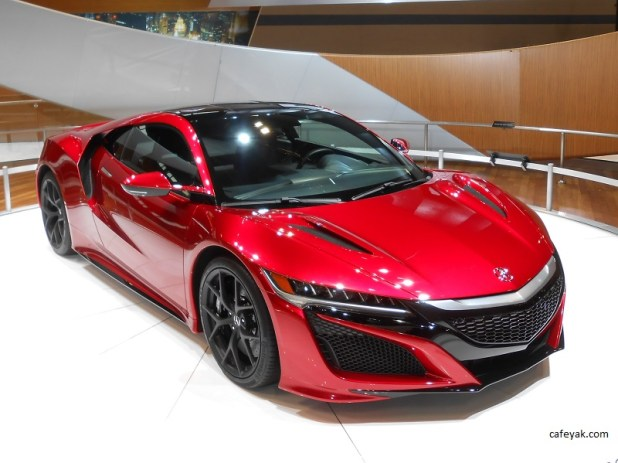 2016 Acura NSX Front