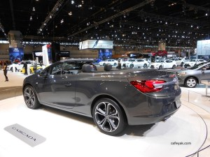 2016 Buick Cascada Rear