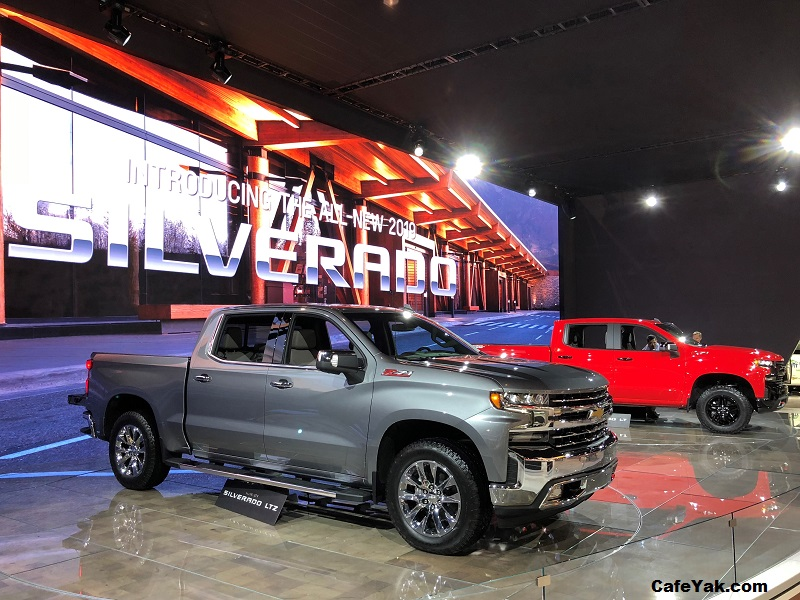 2019 All-New Chevrolet Silverado 1500 - LTZ and LT Trail Boss pictured.