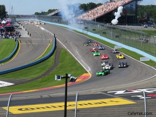 IMSA Sahlen's race
