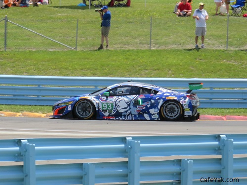 No. 93 Michael Shank Racing Acura NSX GT3