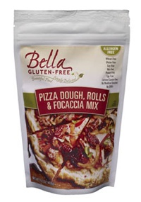Bella Gluten Free pizza dough