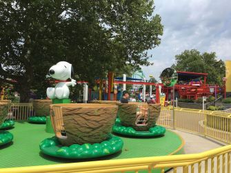 Planet Snoopy Dorney Park Allentown