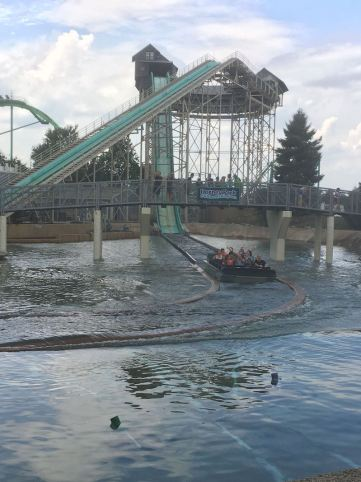 water ride at Dorney Amusement park