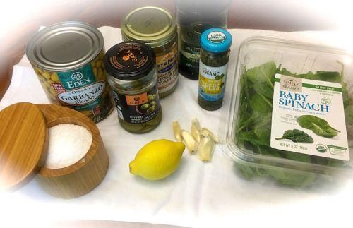 green hummus