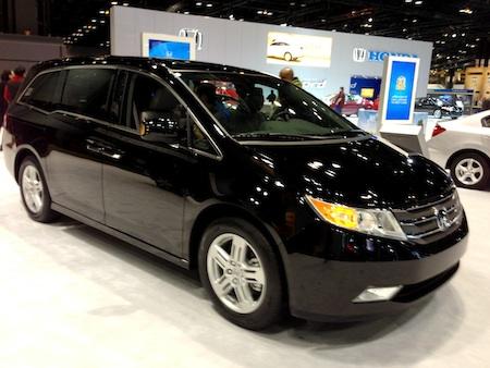 Honday Odyssey 2013