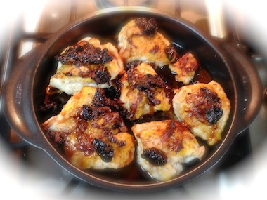 Mediterranean Plum Chicken recipe