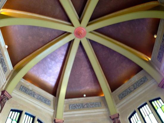 ceiling in Vista House