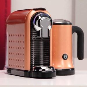 Кафе машина за капсули Carina Golden с каничка за мляко на супер цена