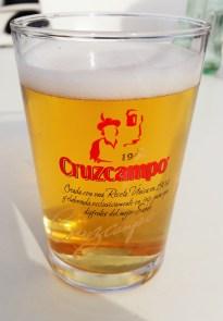 Sevillian beer of choice