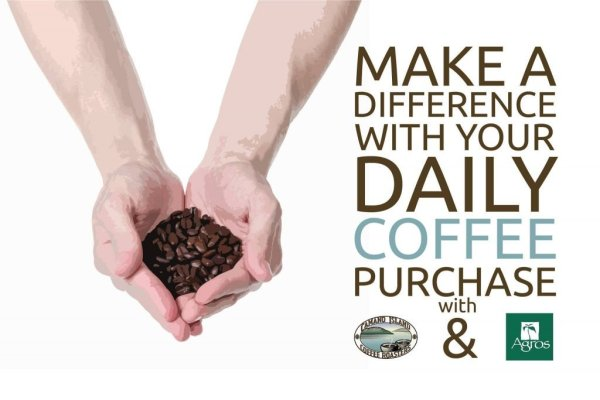 Make a difference with your daily coffee purchase