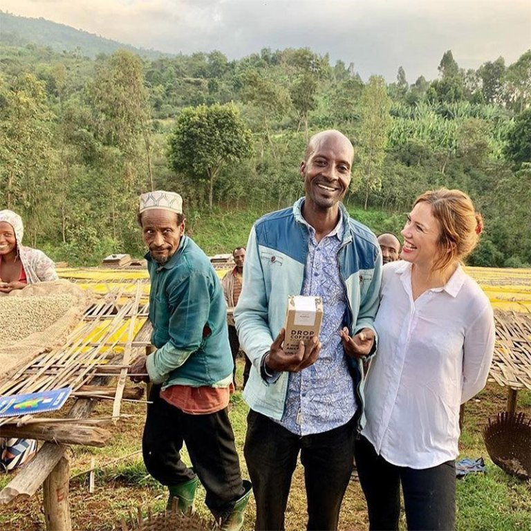 DROP_與衣索比亞小農開心合照