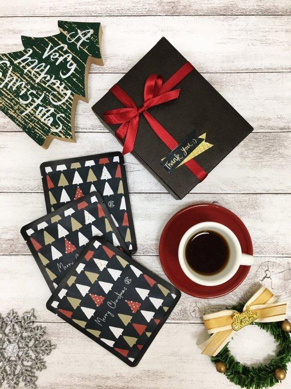 咖啡癮聖誕單盒_繽紛聖誕