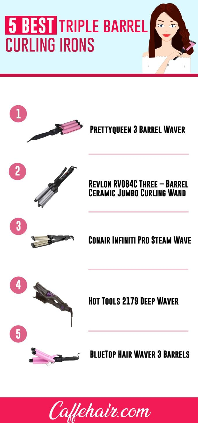 best triple barrel curling irons – 2019 buyer's guide
