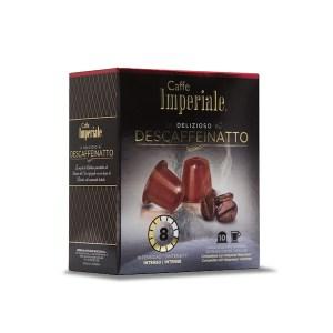Cápsulas Imperiale - Descaffeinatto