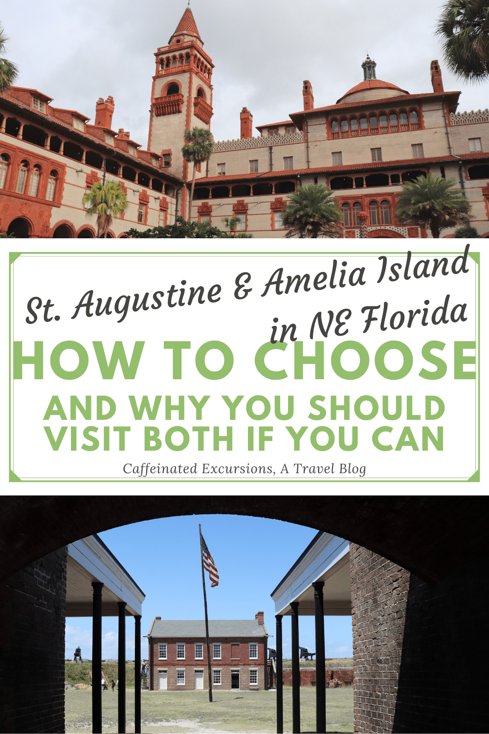 If you need some help choosing a destination in Northeast Florida, check out this blog post! St. Augustine and Amelia Island are both great options! #staugustine #staug #saintaugustine #staugustinefl #staugustineflorida #ameliaisland #ameliaislandflorida #ameliaislandfl #fernandinabeach #flaglercollege #flagler #castillodesanmarcos #lightnermuseum #thefloridian #beachesatvilano #iceplant #iceplantbar #a1aaleworks #fortclinch #fortclinchstatepark #floridastateparks