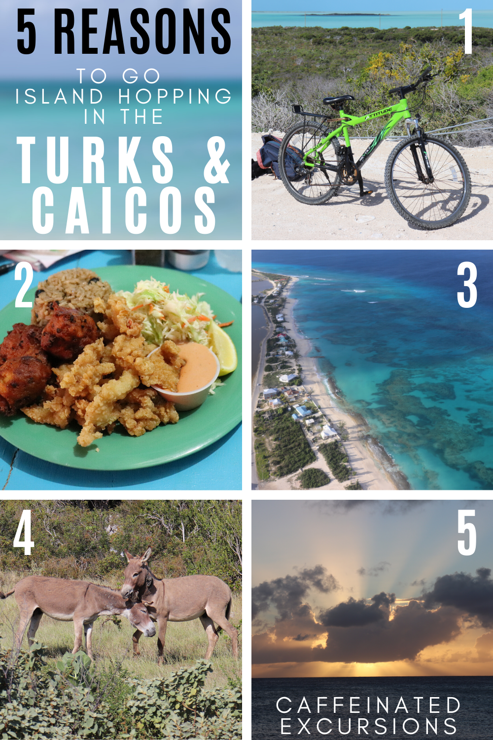 The Turks and Caicos Islands are perfect for an island-hopping getaway! Check out my post to see why, and learn some tips for making it a smooth journey! #turksandcaicos #tci #turksandcaicosislands #providenciales #provo #grandturk #southcaicos #islandhopping #islandvacation #visitturksandcaicos #visittci #islandhoppingguide #travelblog #travelblogs #turksandcaicosislandsguide #travelblogger #travelbloggers #caribbean #caribbeantravel #caribbeantravelguide