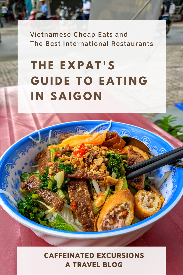 If you're visiting or moving to #Saigon (#HoChiMinhCity), be sure to check out my latest blog post to prepare yourself for the culinary adventure that awaits you there! #visitvietnam #myvietnam #vietnamnow #visitsaigon #hcmc #tphcm #vietnamesefood #southeastasia #vietnamesefoodguide #foodblog #foodblogger #foodandtravel #foodandtravelblog #pho #bunthitnuong #hutieumi #saigonrestaurants #expatsinvietnam #saigonexpats #vietnam #restaurantsandbars #foodies #bestrestaurantssaigon #saigonbars