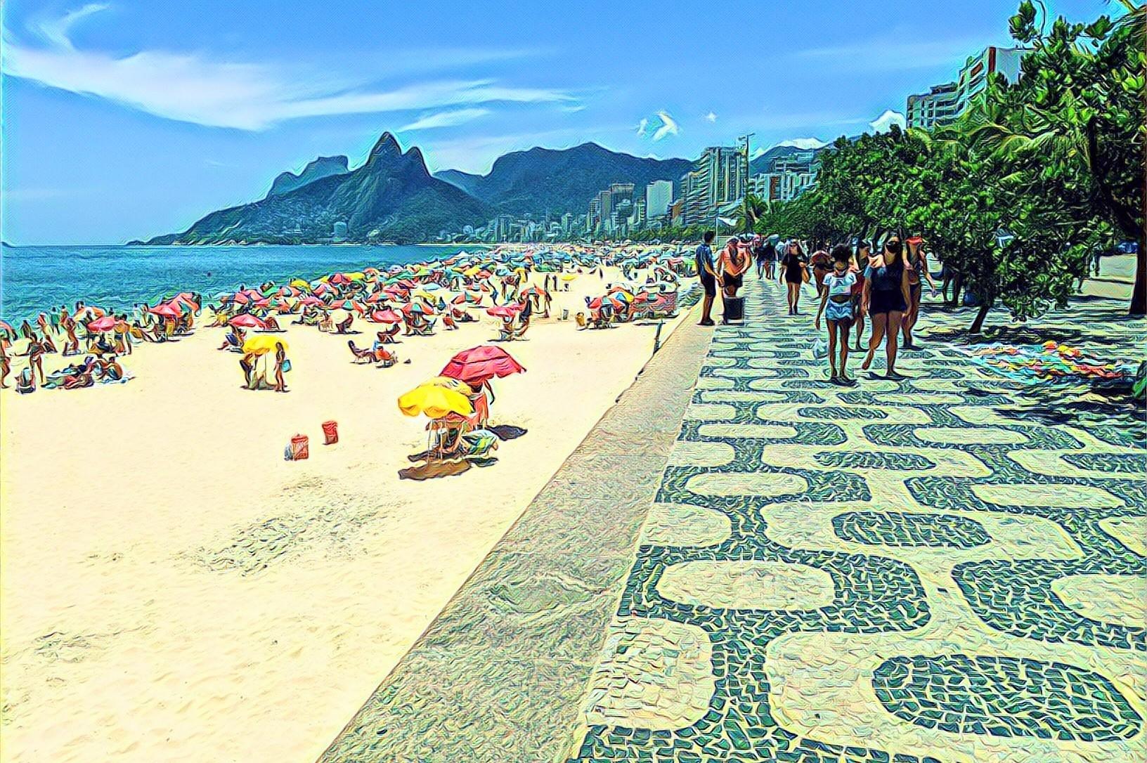 A Walk Through Ipanema, Rio de Janeiro