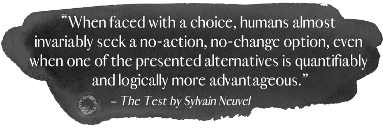 The Test Quote