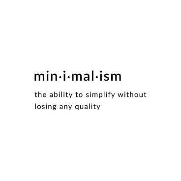 defining minimalism