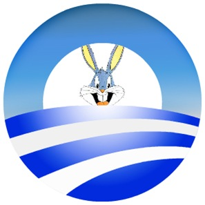 Bugs Bunny Obama Logo