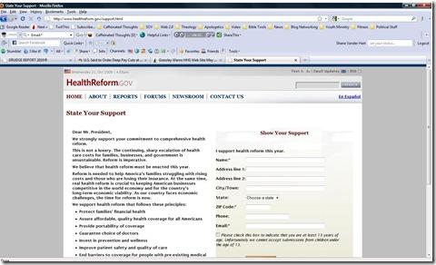 healthreformwebsite