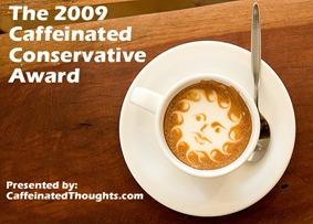 2009 Caffeinated Conservative Award copy