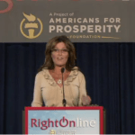 Sarah Palin Praises New Media; Mocks Old Media and Obama at RightOnline
