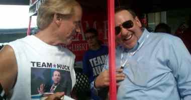 Randy Davis & Governor Mike Huckabee