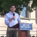 Paul Ryan Hammers Obama on Jobs and Medicare in Adel