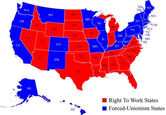 right-to-work-states