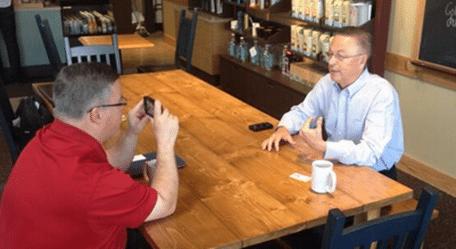 Shane Vander Hart Interviewing Rod Blum