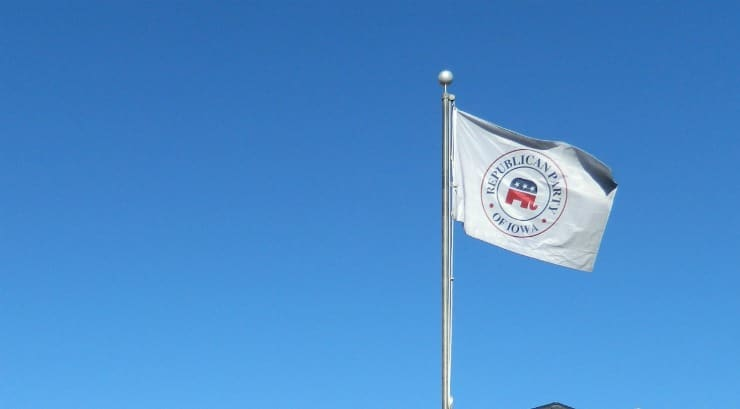Republican Party of Iowa Flag