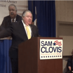 Louie Gohmert Rallies for Sam Clovis