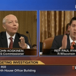 Video: Paul Ryan Rebukes IRS Commissioner: 'I Don't Believe You'